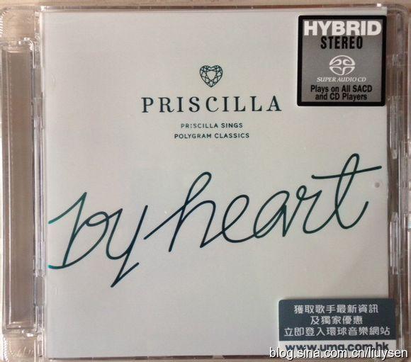 陳慧嫻 (Priscilla Chan) – By Heart (2014) SACD ISO + DSF
