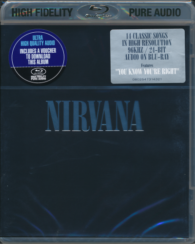 Nirvana – Nirvana (2002/2015) [Blu-Ray Pure Audio Disc]