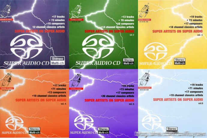 Super Artists on Super Audio Vol.1-6 [Channel Classics SACD ISO]