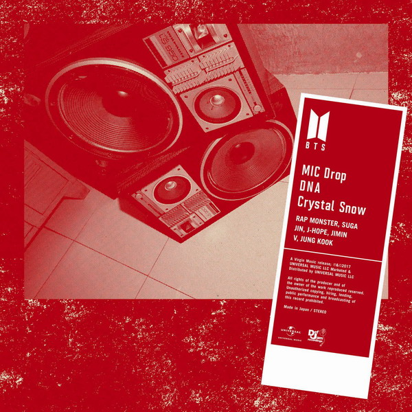 Bangtan Boys (방탄소년단) – MIC Drop / DNA / Crystal Snow [Single] [MP3 320 / WEB] [2017.12.06]
