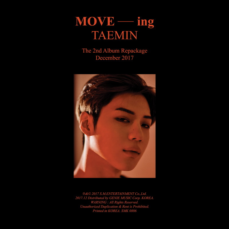 Taemin (태민) – MOVE-ing [FLAC + MP3 320 / WEB] [2017.12.10]