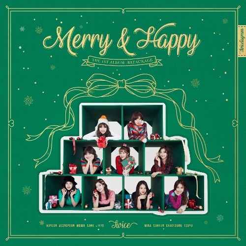 TWICE (트와이스) – Merry & Happy [FLAC + MP3 320 / WEB] [2017.12.11]