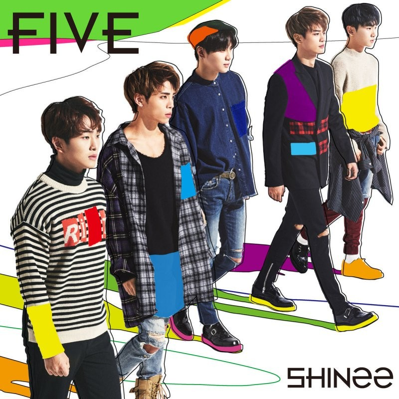 SHINee (샤이니) – FIVE [FLAC / 24bit Lossless / WEB]  [2017.01.27]