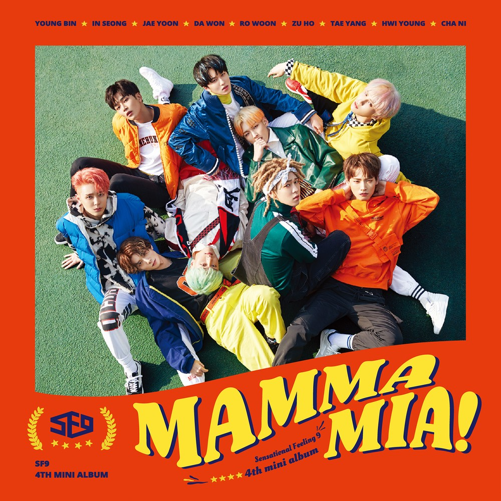 SF9 (에스에프나인) – MAMMA MIA! [24bit Lossless + MP3 320 / WEB] [2018.02.26]