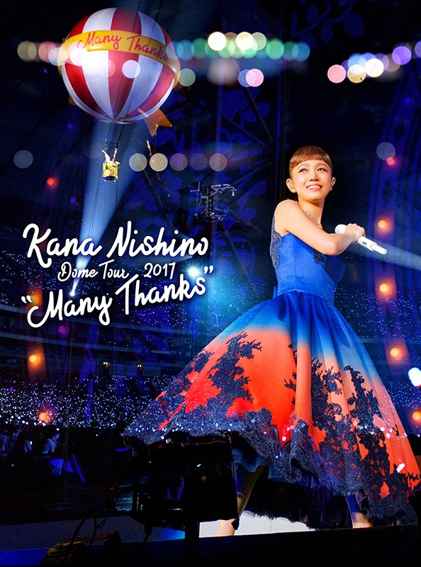 Kana Nishino (西野カナ) – Dome Tour 2017 Many Thanks BluRay 720p DTS Flac x264-beAst