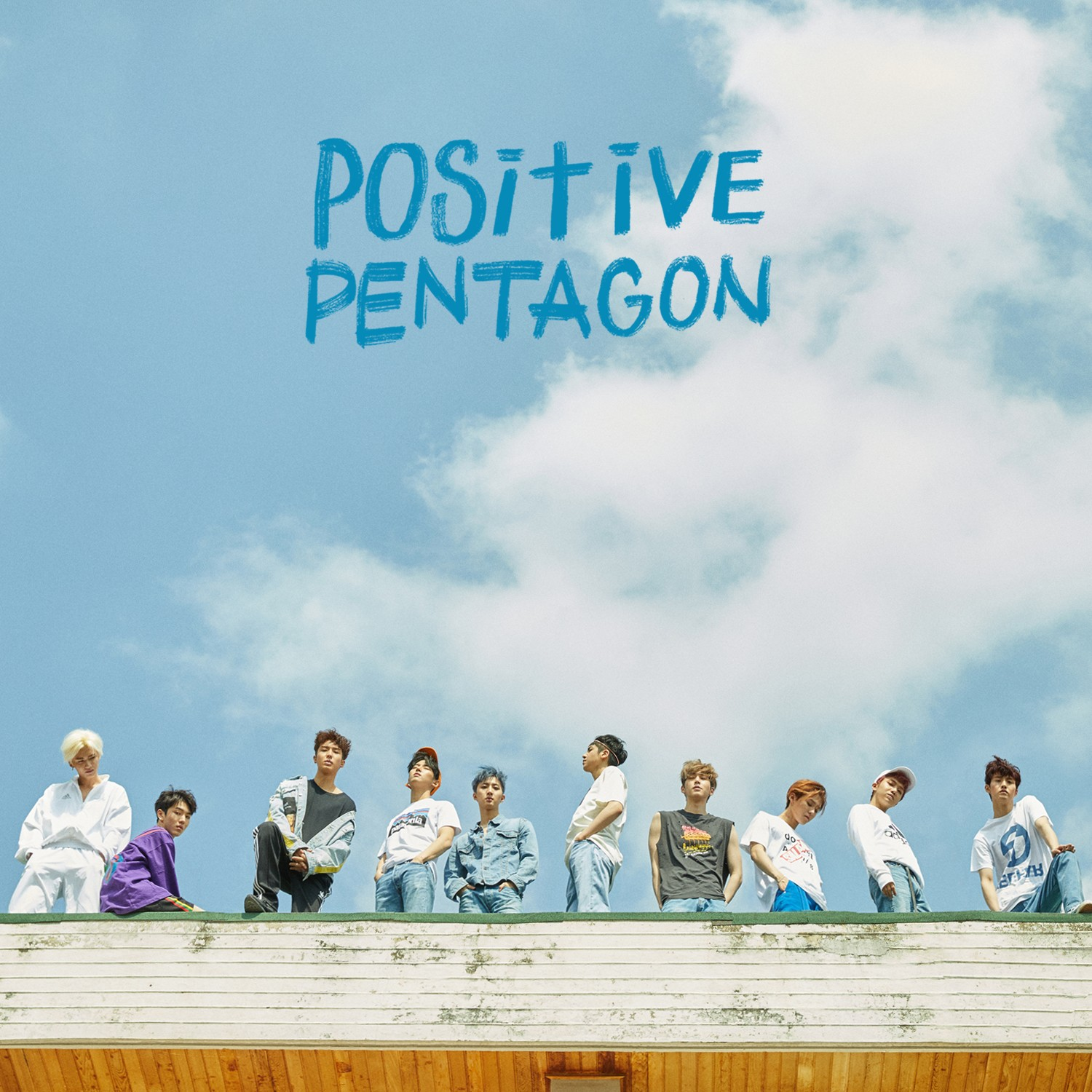 Pentagon (ペンタゴン/펜타곤) – Positive [24bit Lossless + MP3 320 / WEB] [2018.04.02]