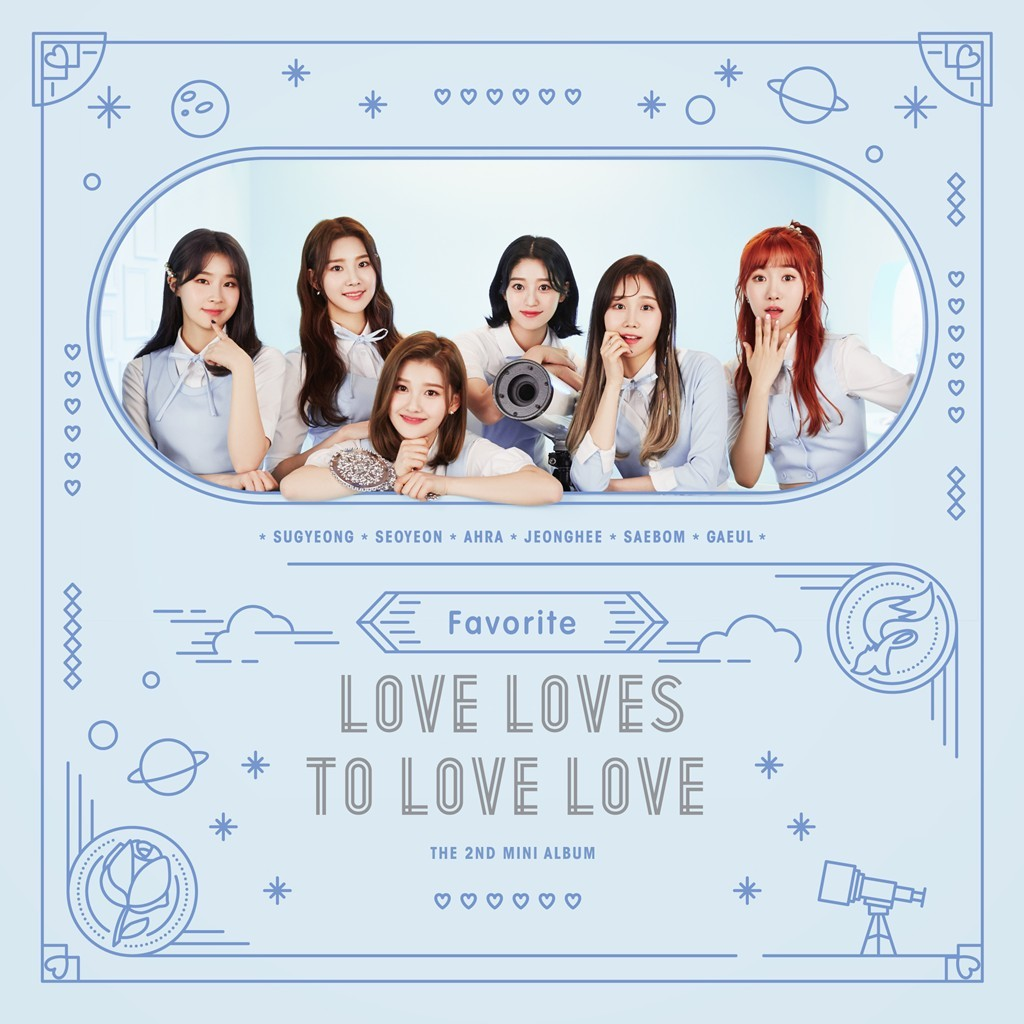 FAVORITE (페이버릿) – Love Loves To Love Love [24bit Lossless + MP3 320 / WEB] [2018.05.10]