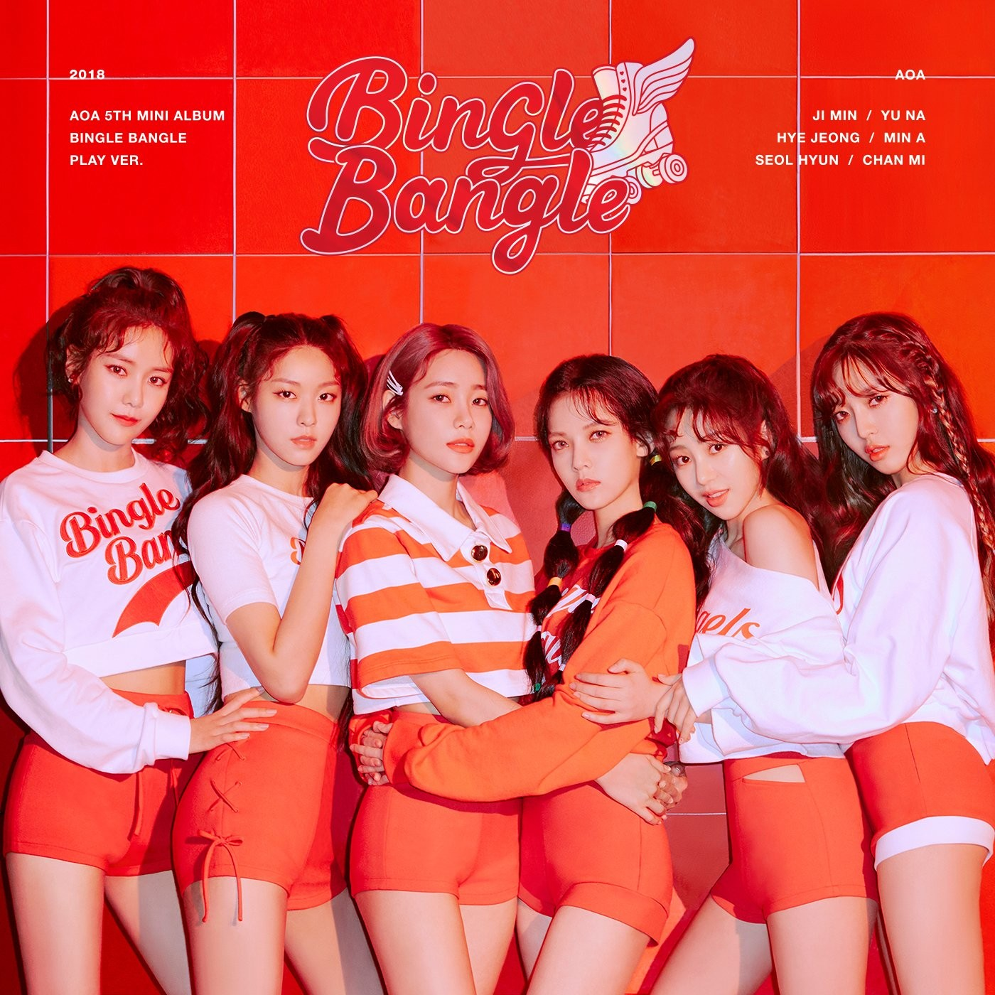 AOA (에이오에이) – Bingle Bangle [24bit Lossless + MP3 320 / WEB] [2018.05.28]