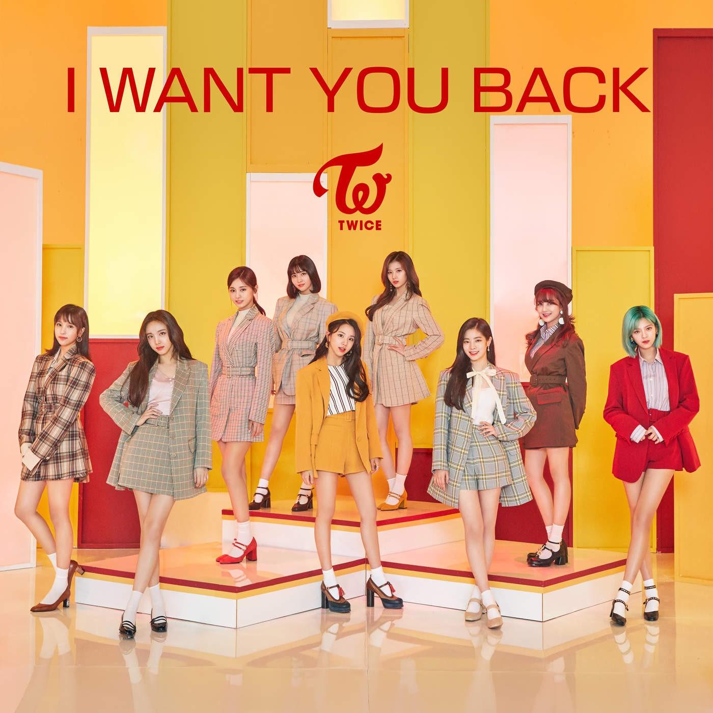 TWICE (트와이스) – I WANT YOU BACK [FLAC + MP3 320 / WEB] [2018.06.15]