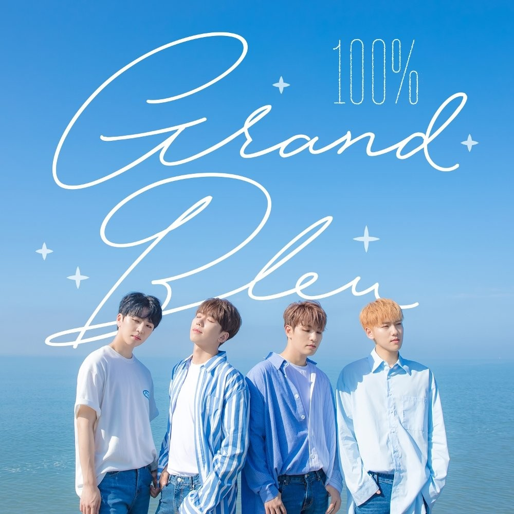 100% (백퍼센트) – Grand Bleu [24bit Lossless + MP3 320 / WEB] [2018.07.26]
