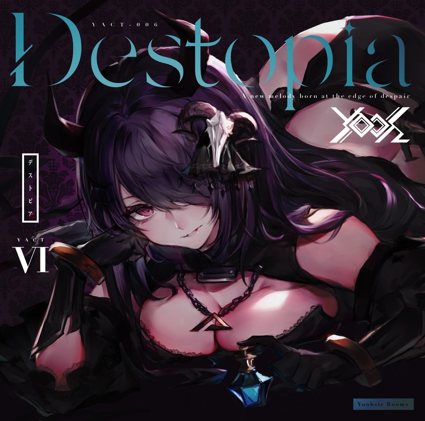 Yooh (ユー) – Destopia [FLAC + MP3 VBR / CD] [2018.08.10]
