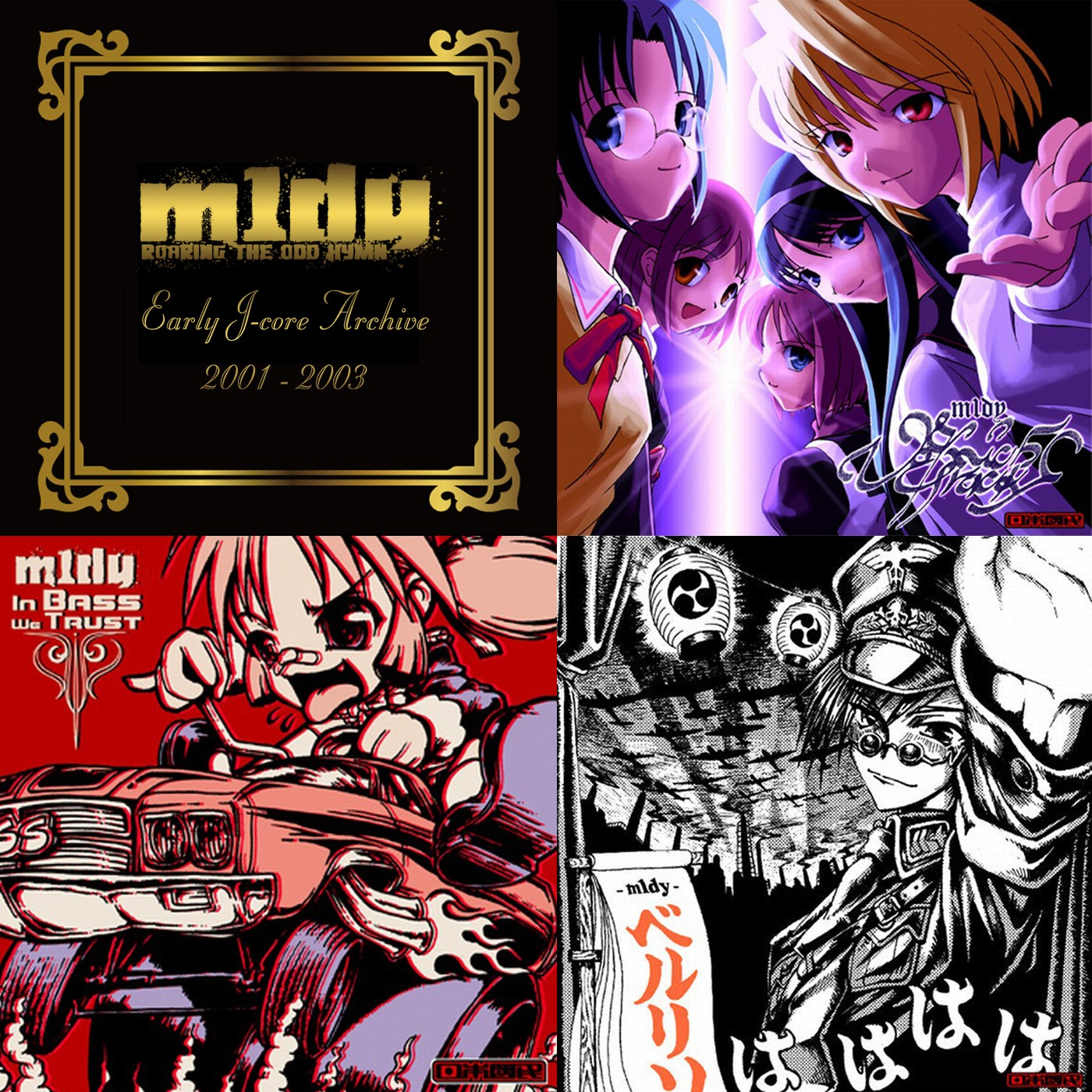 m1dy (ミディ) – Early J-Core Archive 2001-2003 [FLAC / WEB] [2018.08.18]