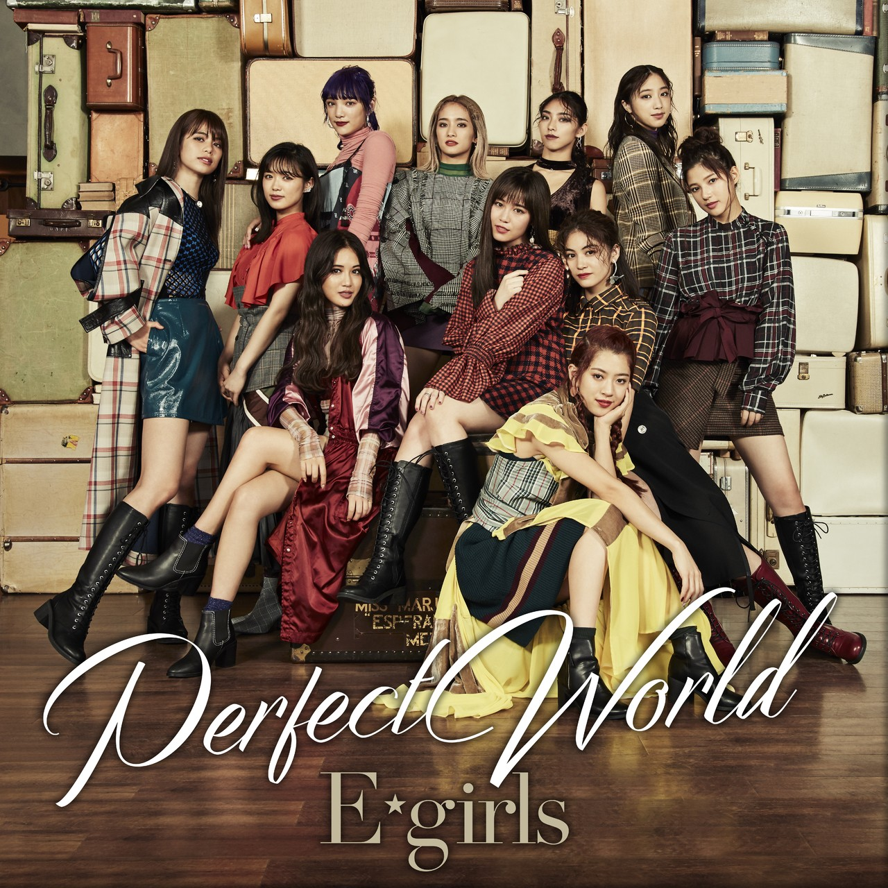 E-girls – Perfect World [MP3 320 / WEB] [2018.10.03]