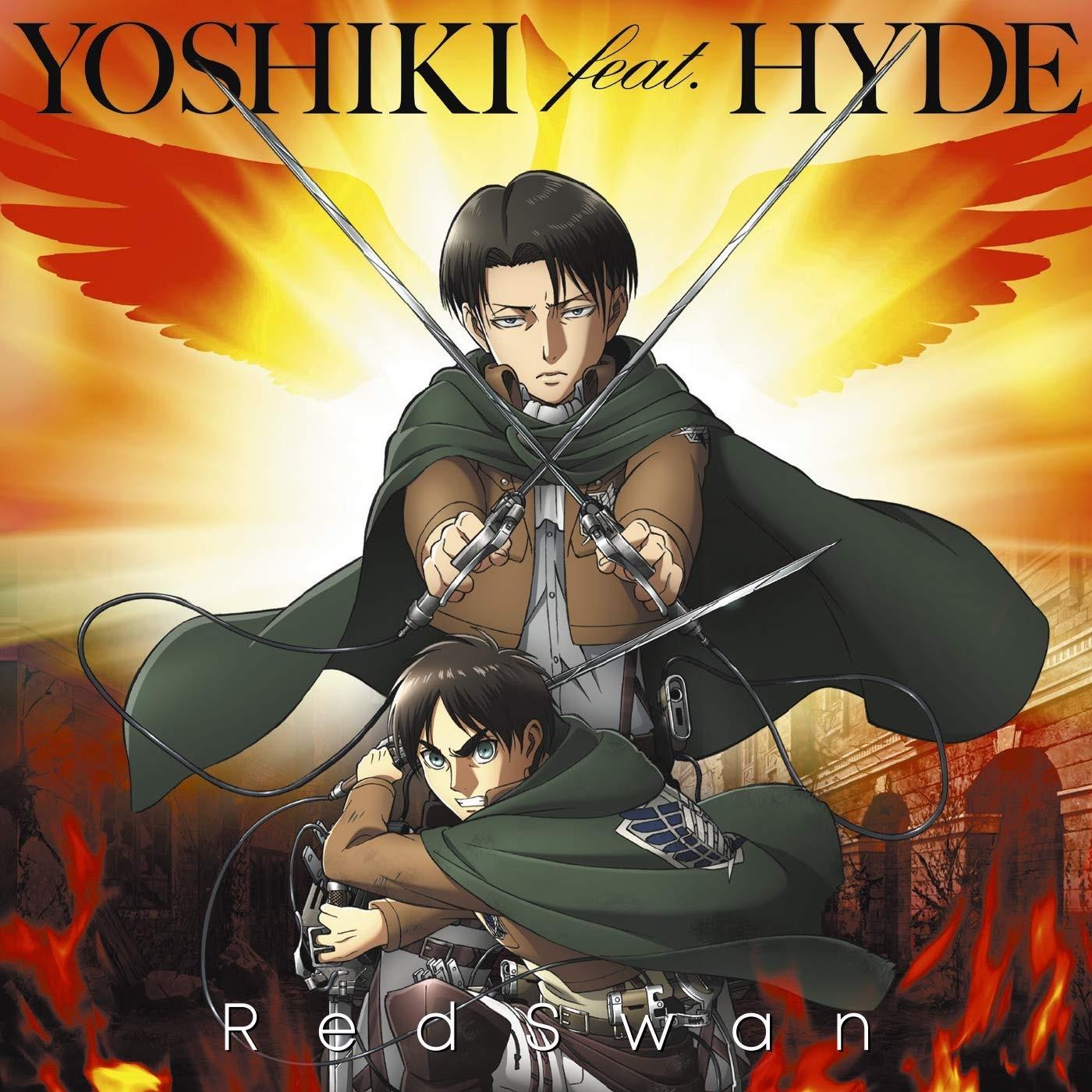 YOSHIKI feat. HYDE – Red Swan [FLAC + MP3 320 / CD] [2018.10.03]