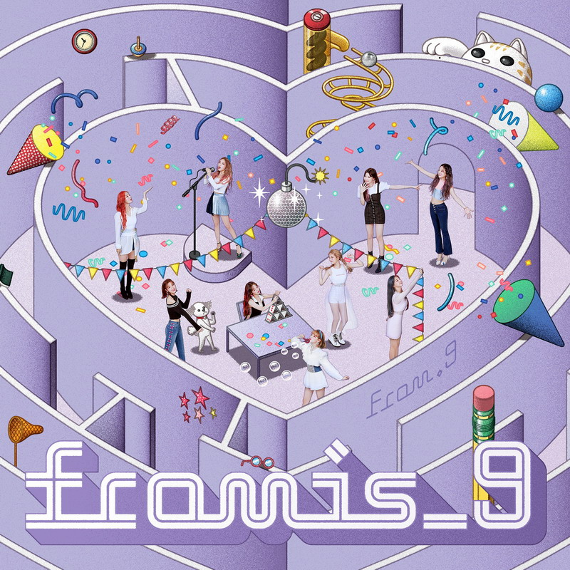 fromis_9 – From.9 [24bit Lossless + MP3 320 / WEB]  [2018.10.10]