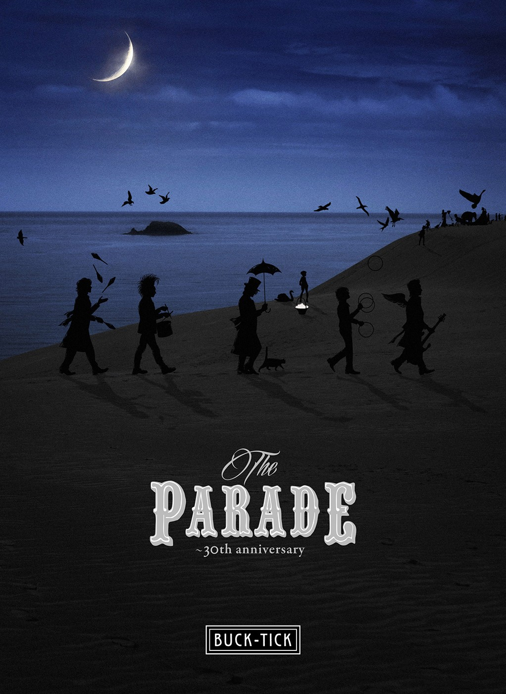 BUCK-TICK – THE PARADE 30th anniversary [MP3 320 / CD] [2018.09.21]