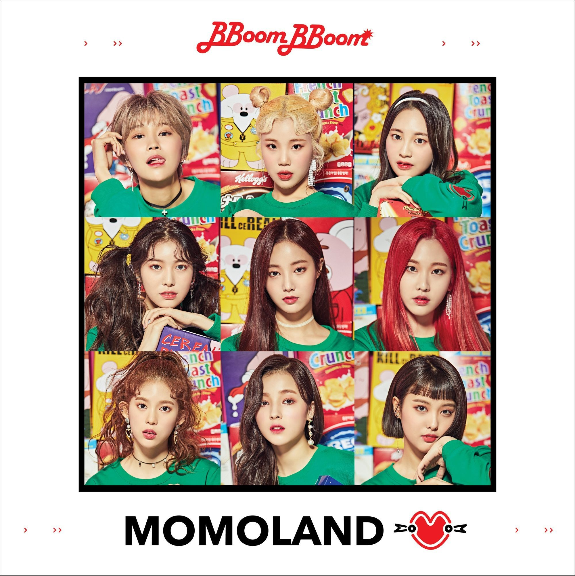 MOMOLAND (모모랜드) – GREAT! [FLAC + MP3 320 / WEB] [2018.01.03]