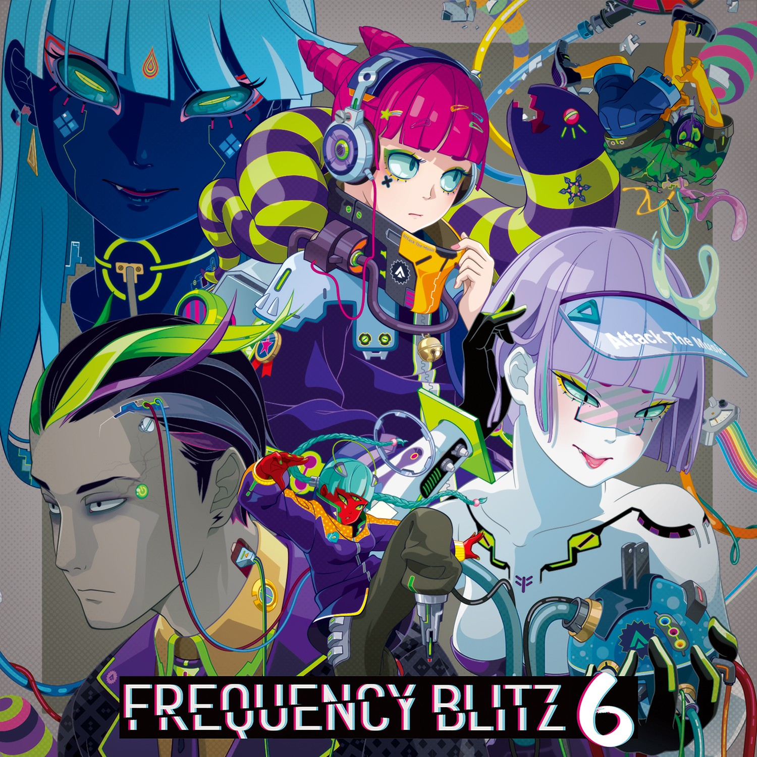 VA – Frequency Blitz 6 [MP3 320 / CD] [2018.10.28]