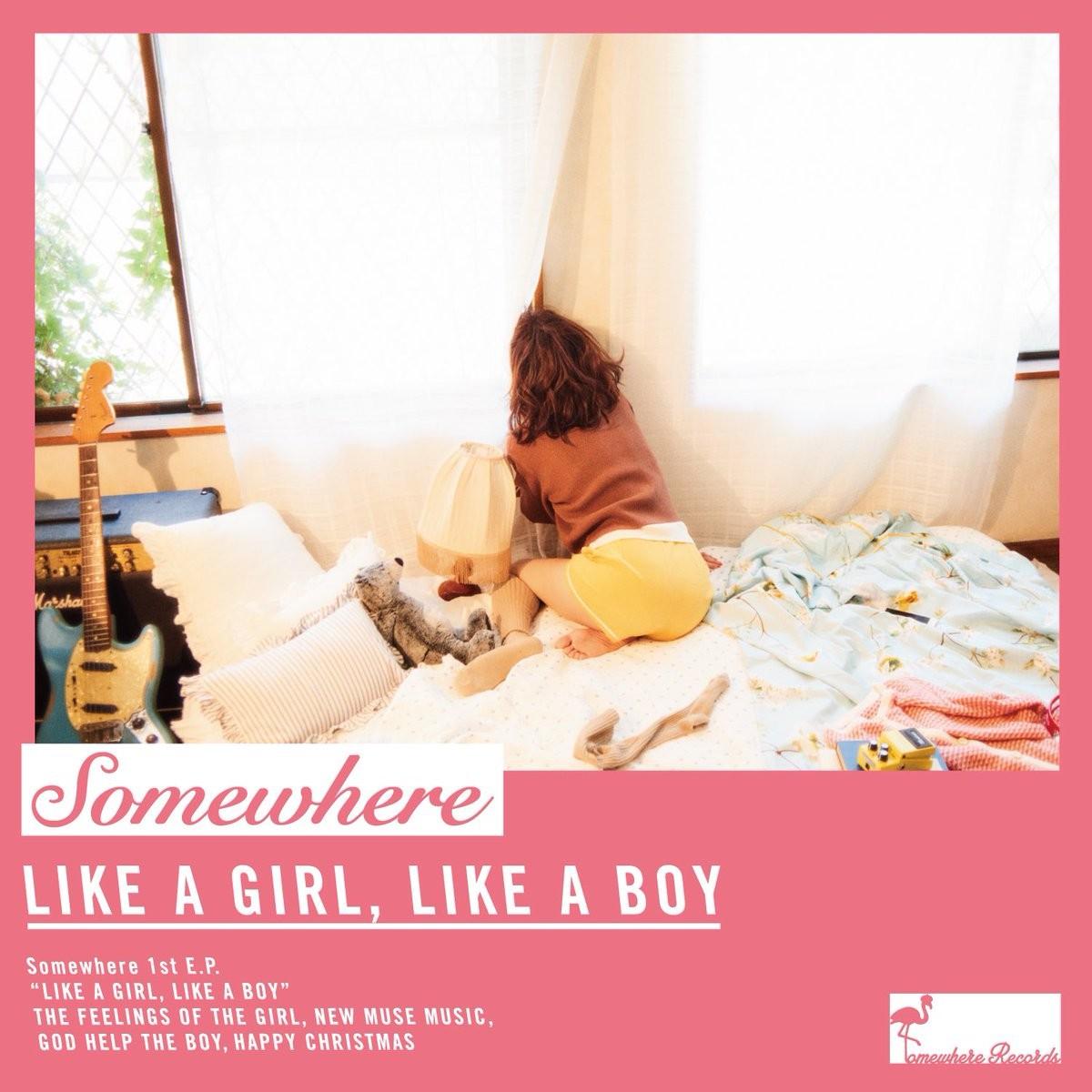 Somewhere (Saku) – LIKE A GIRL, LIKE A BOY [AAC 320 / WEB] [2018.12.23]