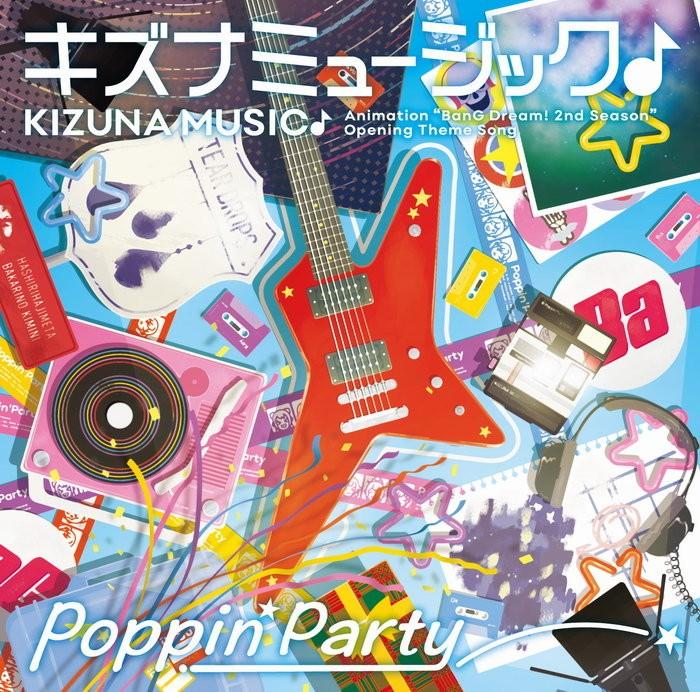 Poppin'Party – キズナミュージック♪ [FLAC + MP3 320 / CD] [2018.12.12]