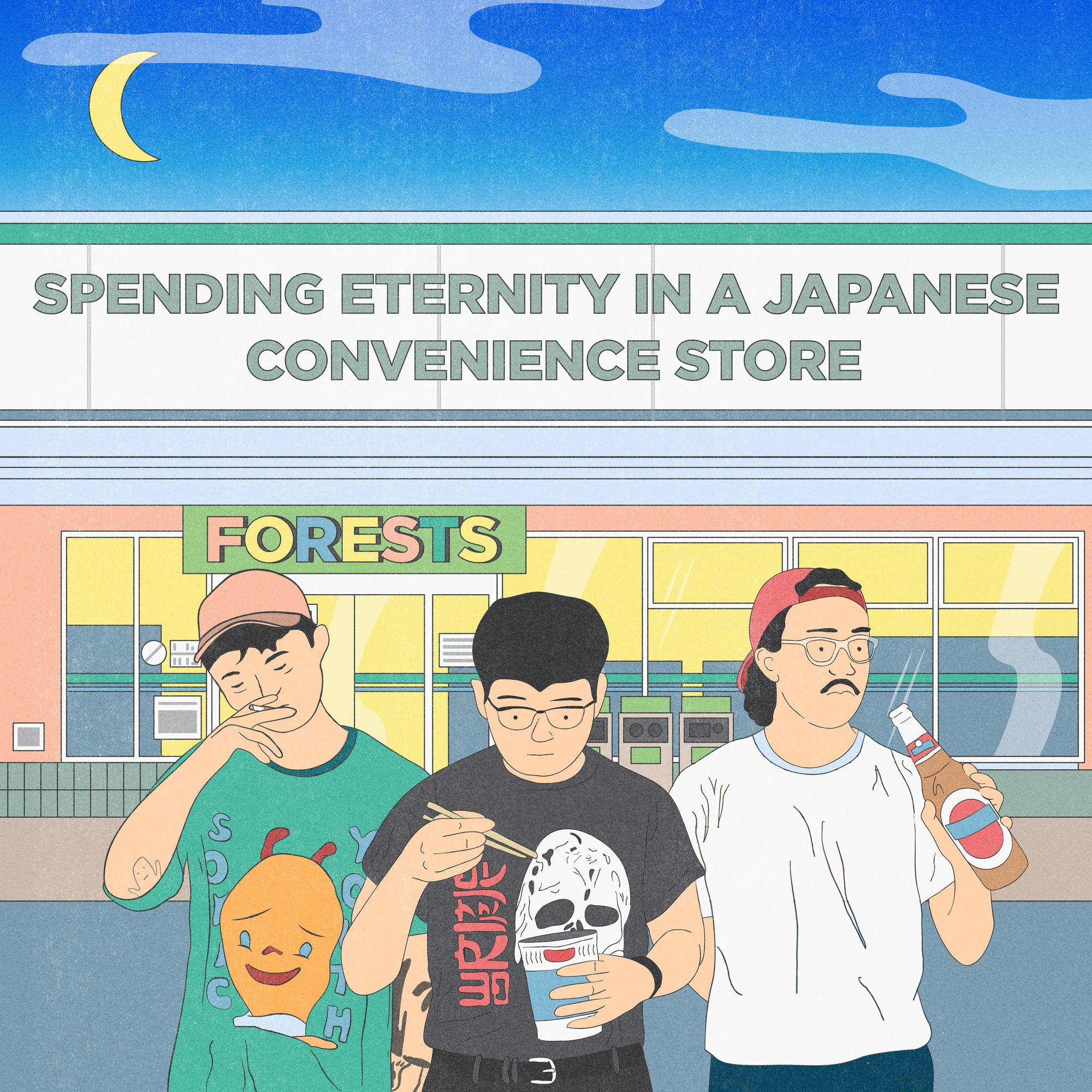 Forests – Spending Eternity In A Japanese Convenience Store [FLAC / WEB] [2019.01.01]
