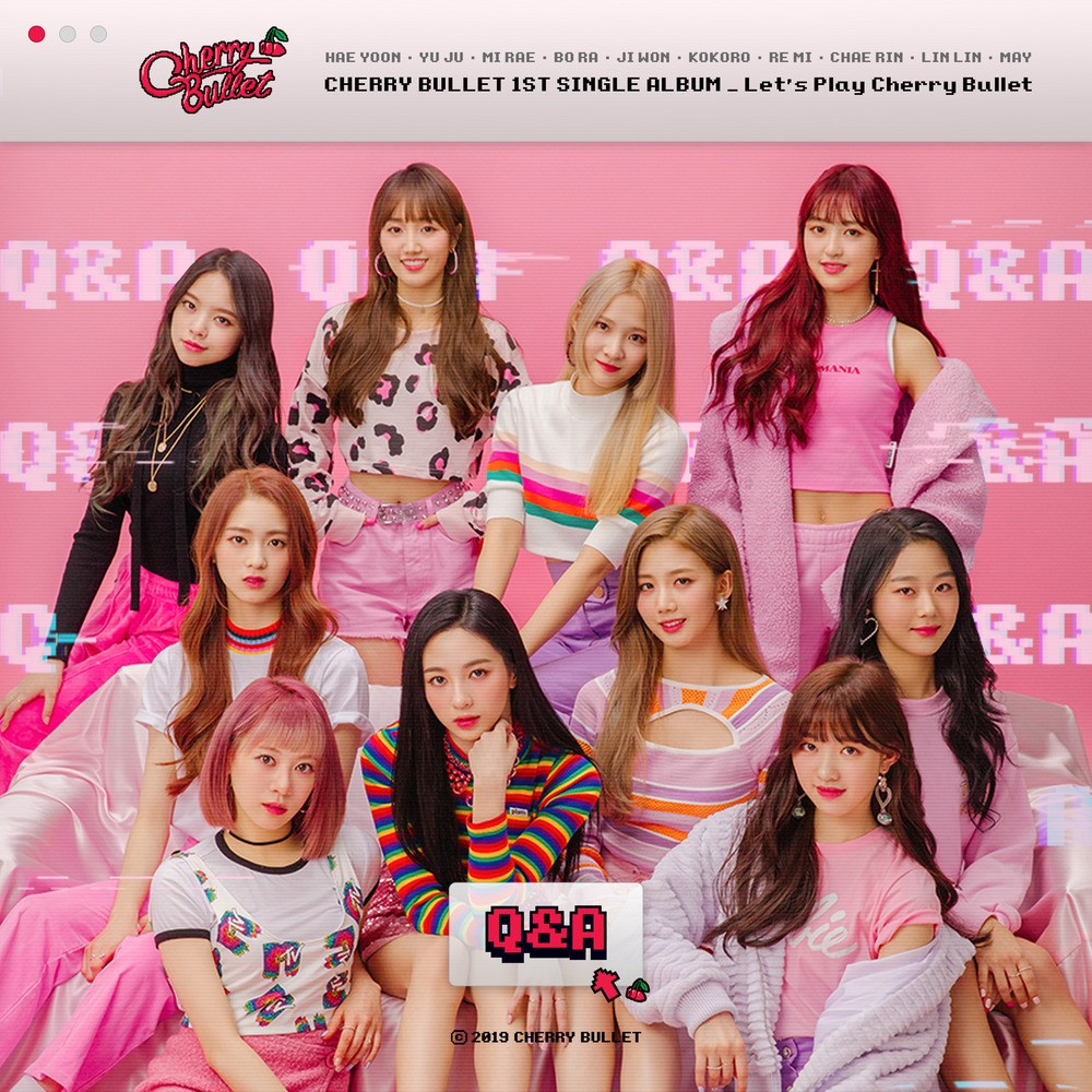 Cherry Bullet (체리블렛) – Let's Play Cherry Bullet [FLAC + MP3 320 / WEB] [2019.01.21]