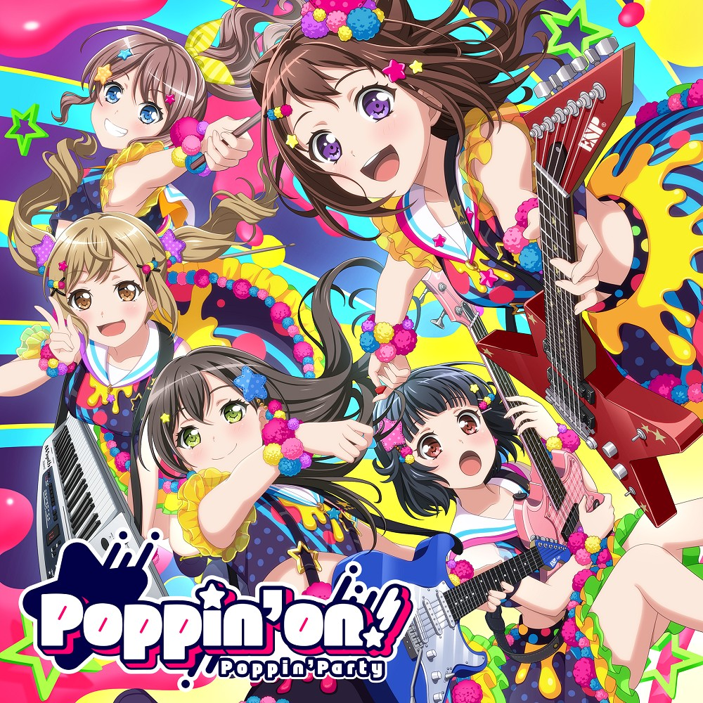 BanG Dream! – Poppin'on! [24bit Lossless + MP3 320 / WEB] [2019.01.30]