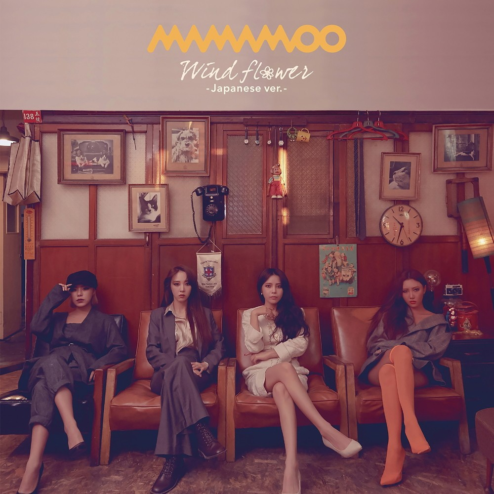 Mamamoo (마마무) – Wind flower (Japanese ver.) [FLAC + MP3 320 / WEB] [2019.02.06]