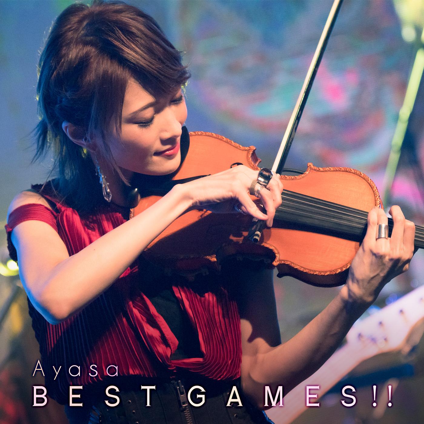 Ayasa – BEST GAMES!! [ALAC 32bit/48kHz]