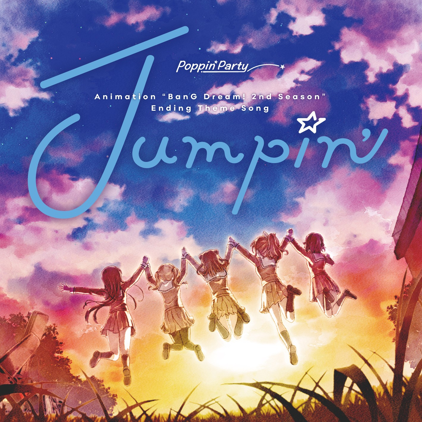 BanG Dream! – Jumpin' [FLAC / 24bit Lossless / WEB] [2019.02.20]