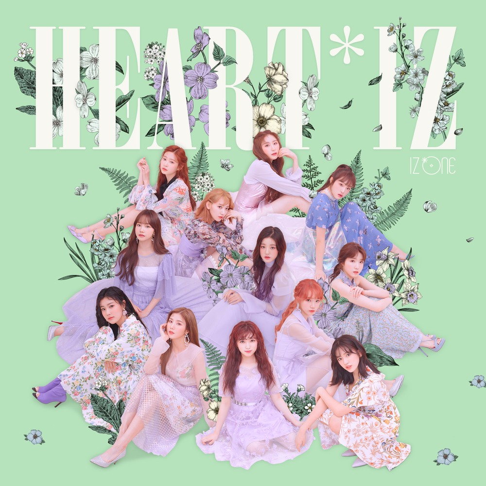 IZ*ONE – HEART*IZ [24bit Lossless + MP3 320 / WEB] [2019.04.01]