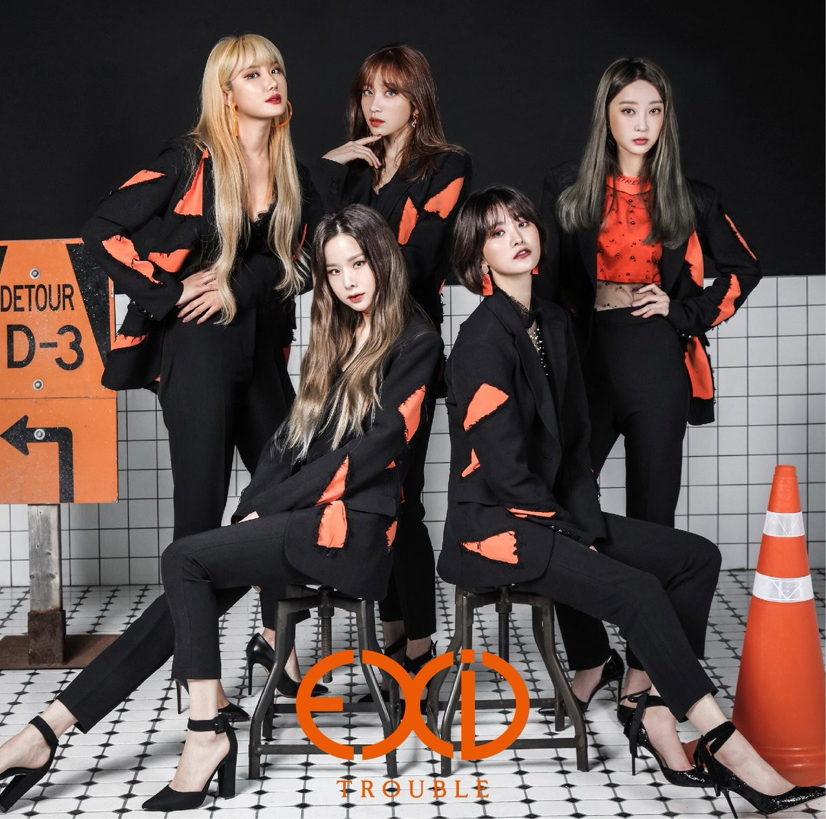 EXID – TROUBLE [AAC 256 / WEB] [2019.04.03]