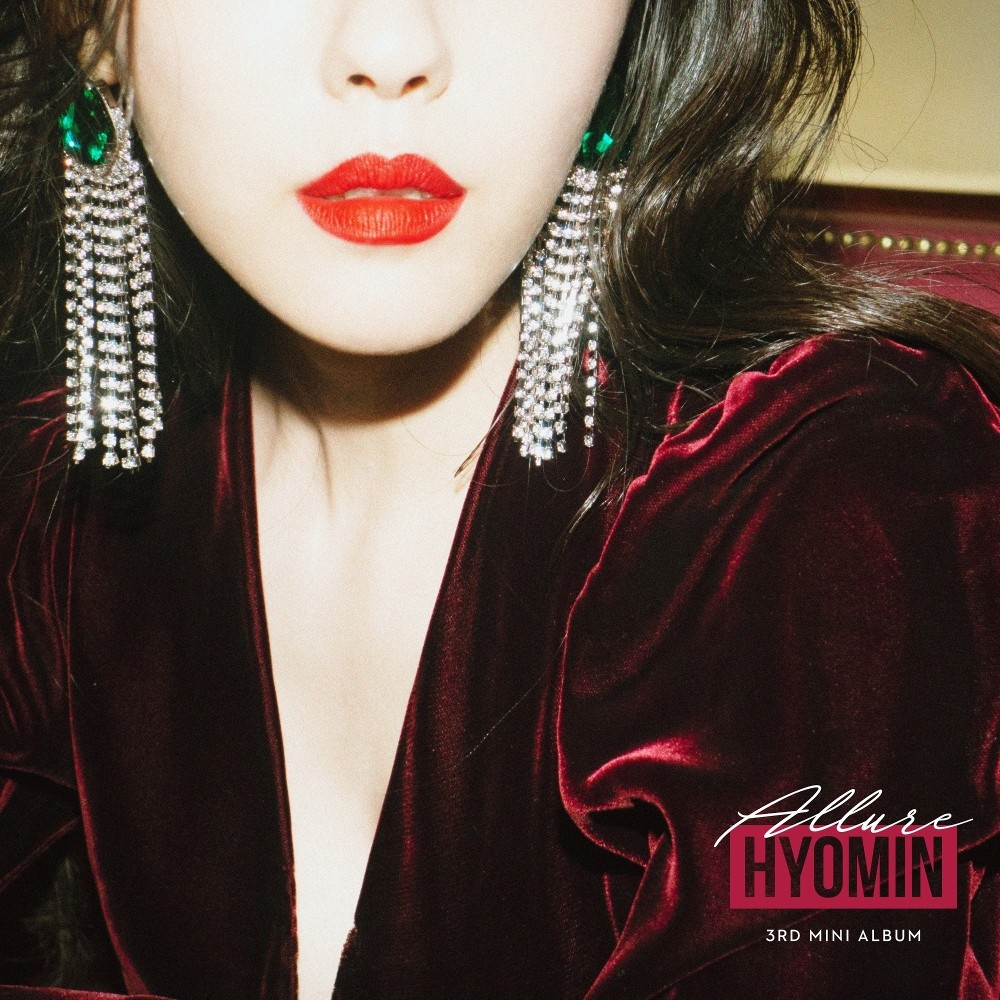 Hyomin (효민) – Allure (입꼬리) [24bit Lossless + MP3 320 / WEB] [2019.02.20]