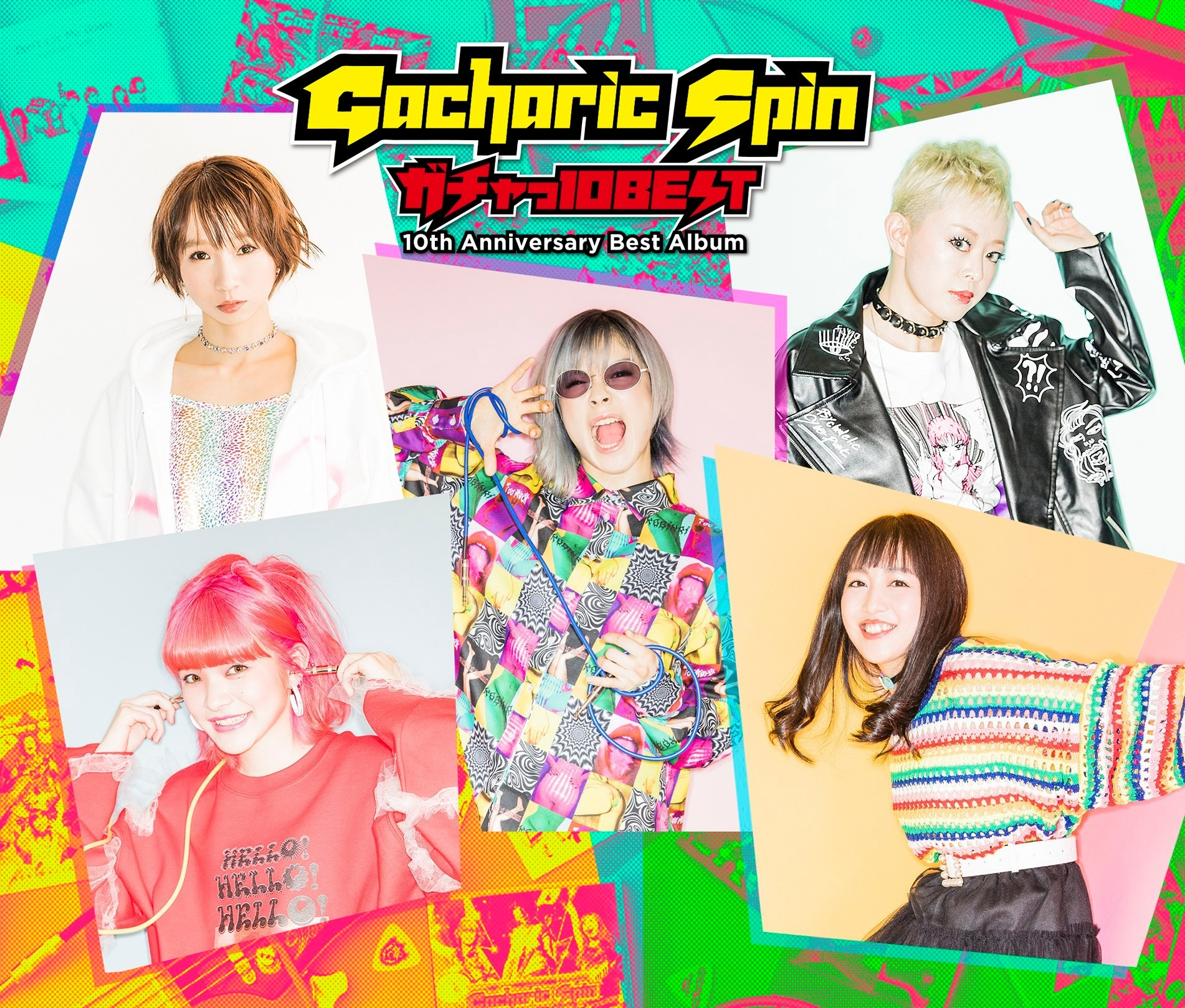 Gacharic Spin – ガチャっ10BEST [FLAC + MP3 320 + Blu-Ray ISO] [2019.03.27]