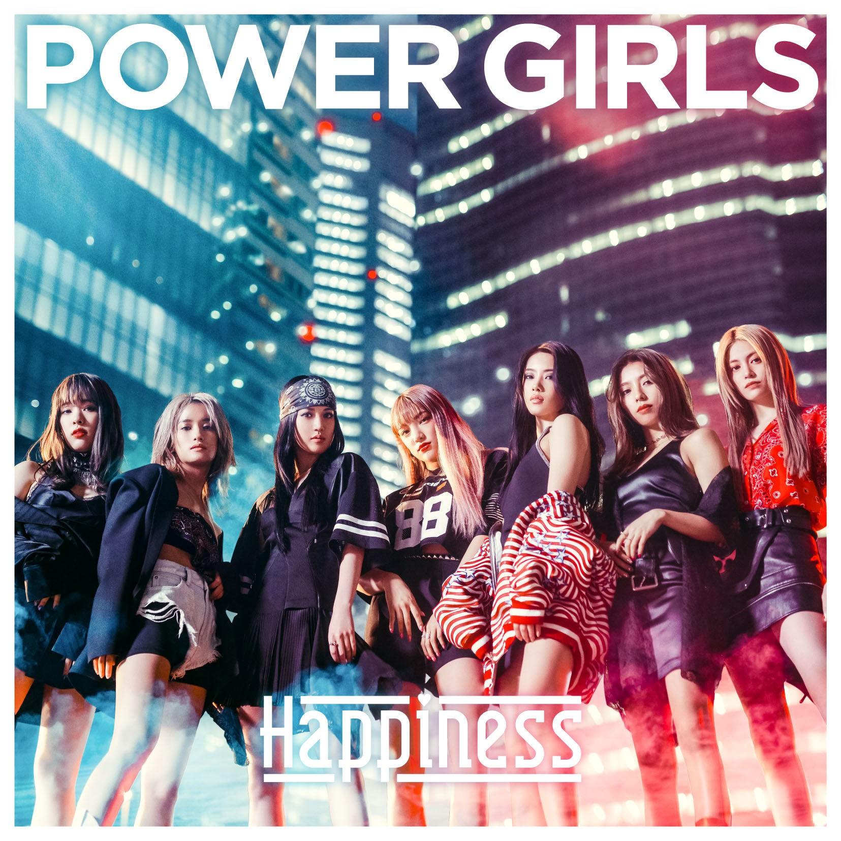 Happiness – POWER GIRLS [AAC 256/ WEB] [2019.01.16]