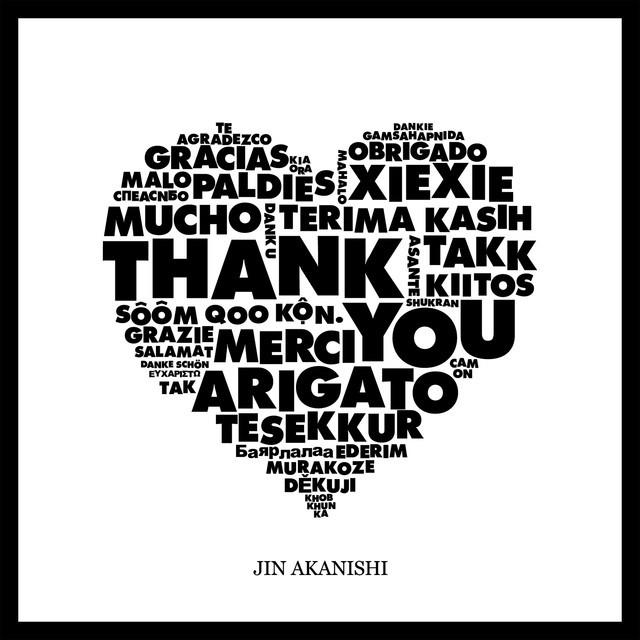 赤西仁 (JIN AKANISHI) – THANK YOU [FLAC / CD] [2019.05.15]