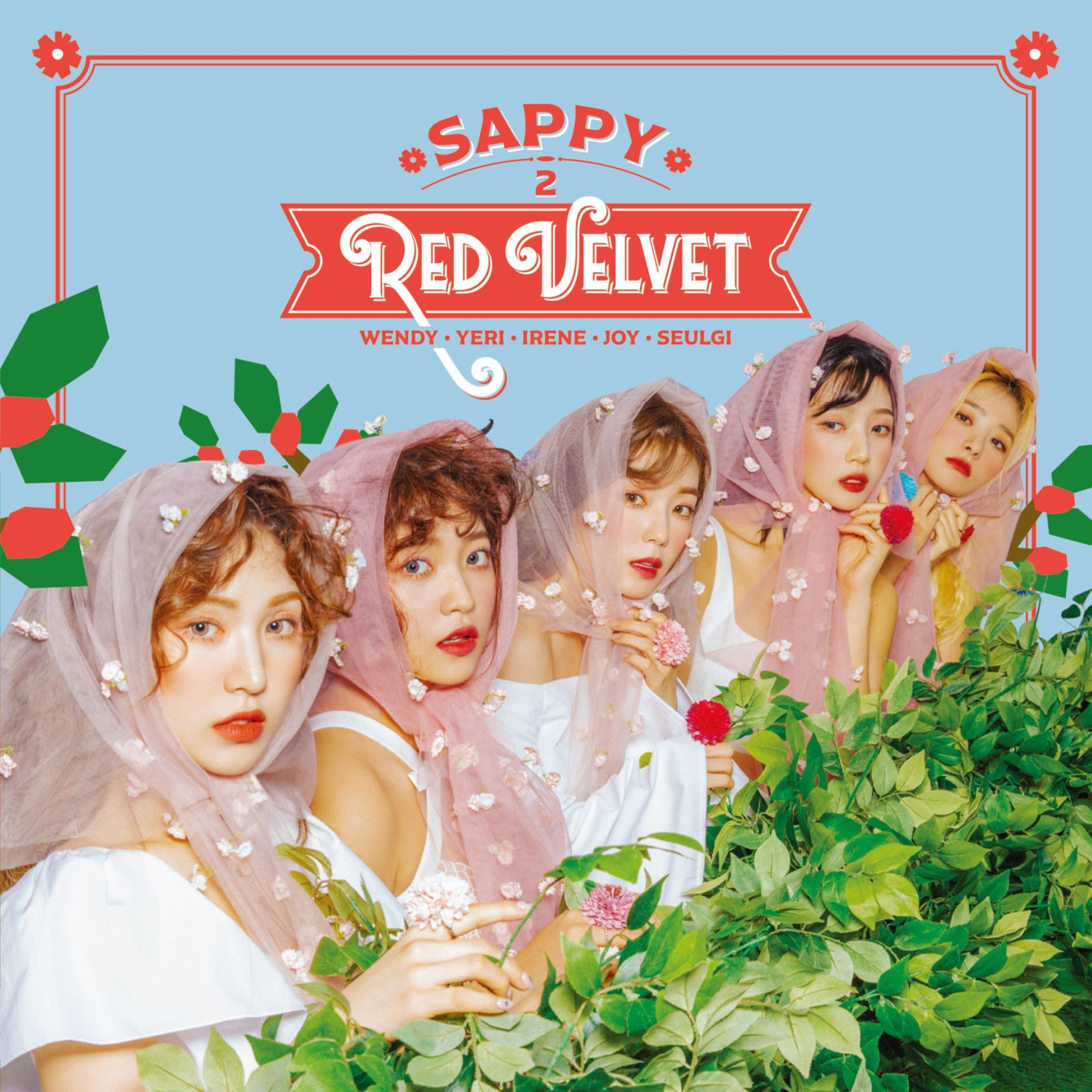 Red Velvet (레드벨벳) – SAPPY [FLAC + MP3 320 + DVD ISO] [2019.05.29]