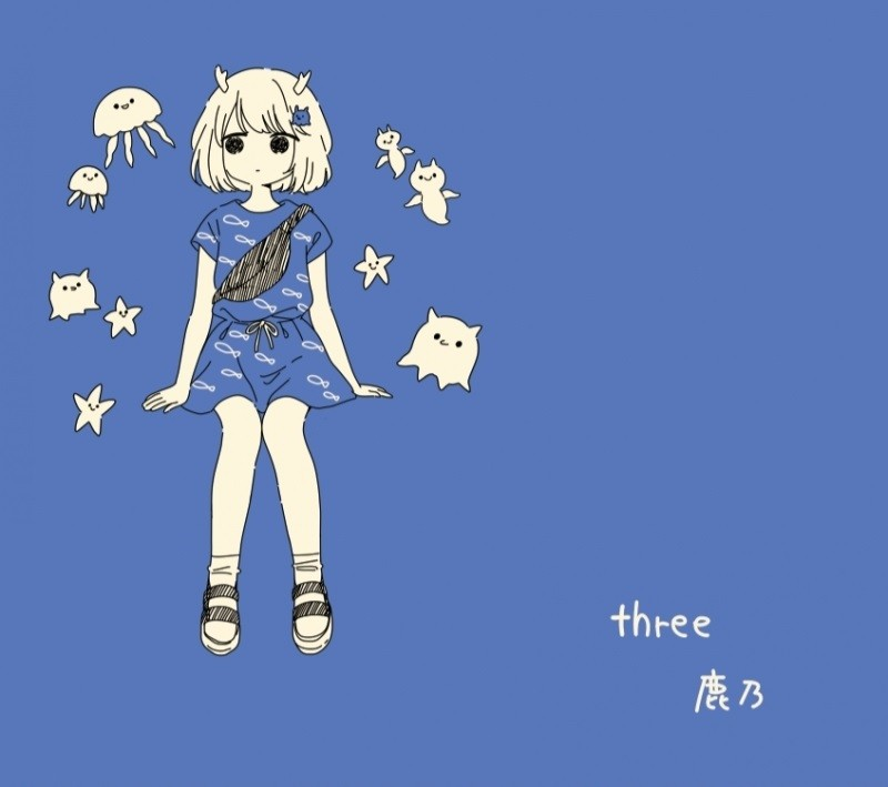 鹿乃 (Kano) – three [FLAC + MP3 320 / CD] [2019.08.12]