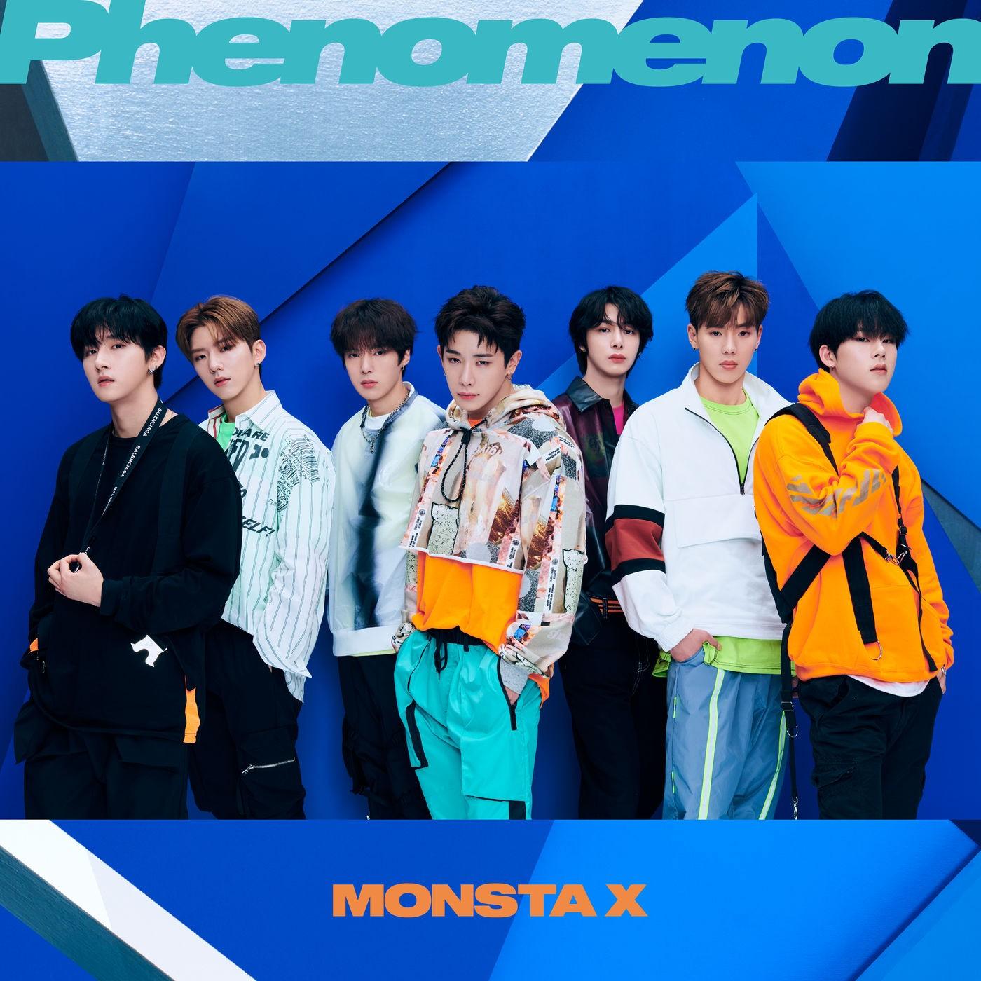 MONSTA X – Phenomenon [FLAC + MP3 320] [2019.08.21]