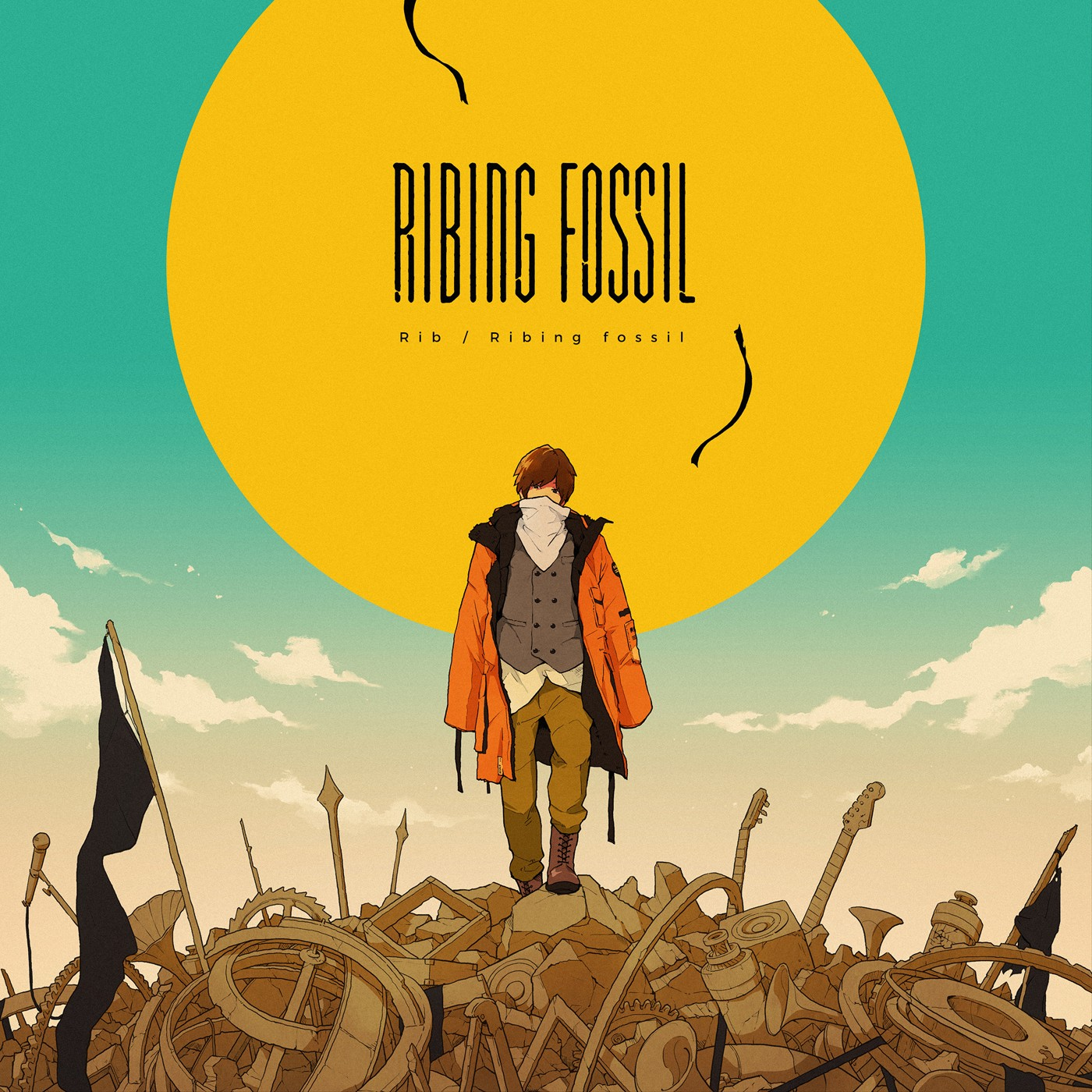 Rib (りぶ)  – Ribing fossil [24bit Lossless + MP3 320 / WEB] [2019.09.18]