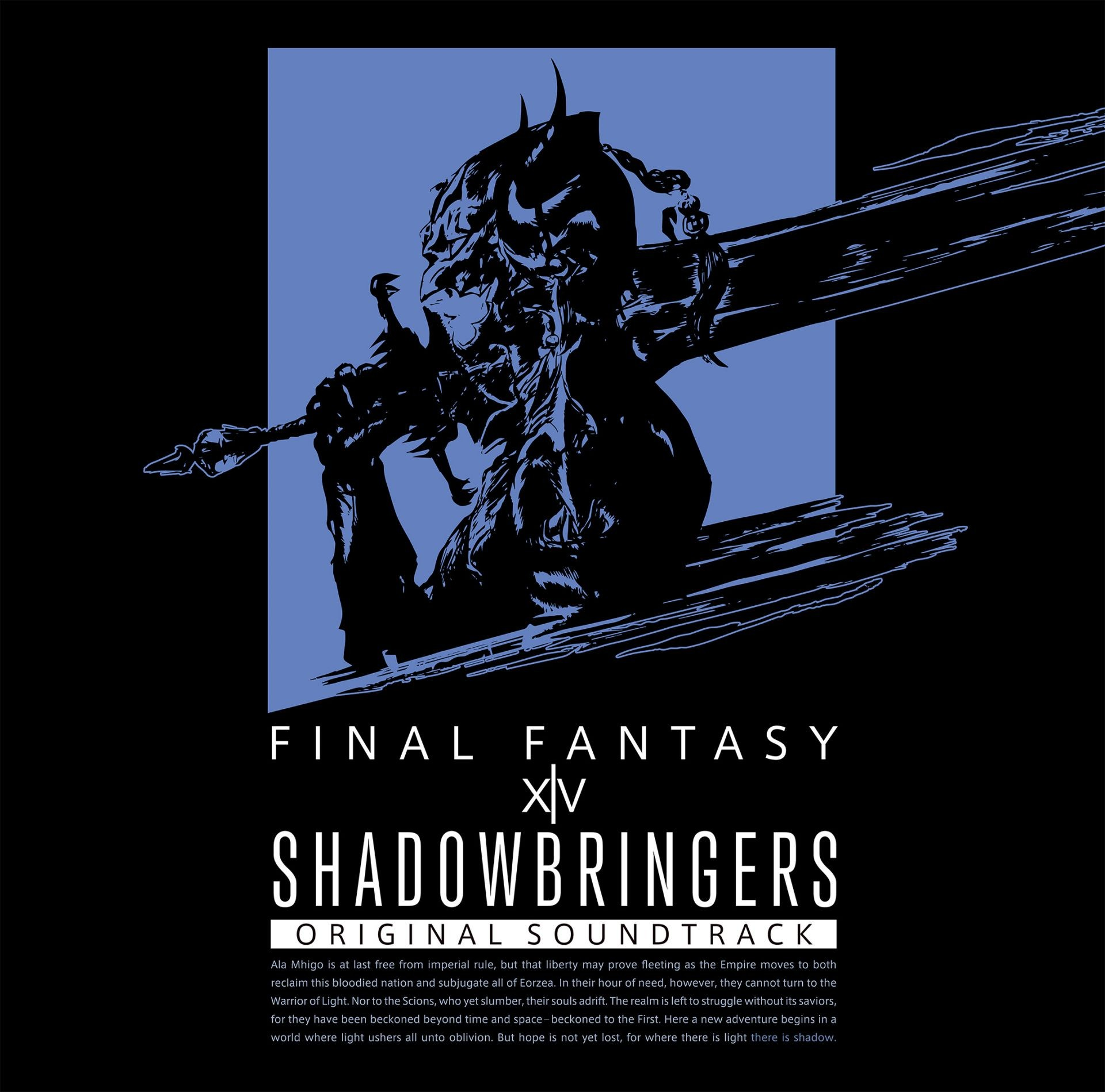 祖堅正慶 (Masayoshi Soken) – SHADOWBRINGERS: FINAL FANTASY XIV ORIGINAL SOUNDTRACK [Blu-ray to FLAC 24bit/96kHz]