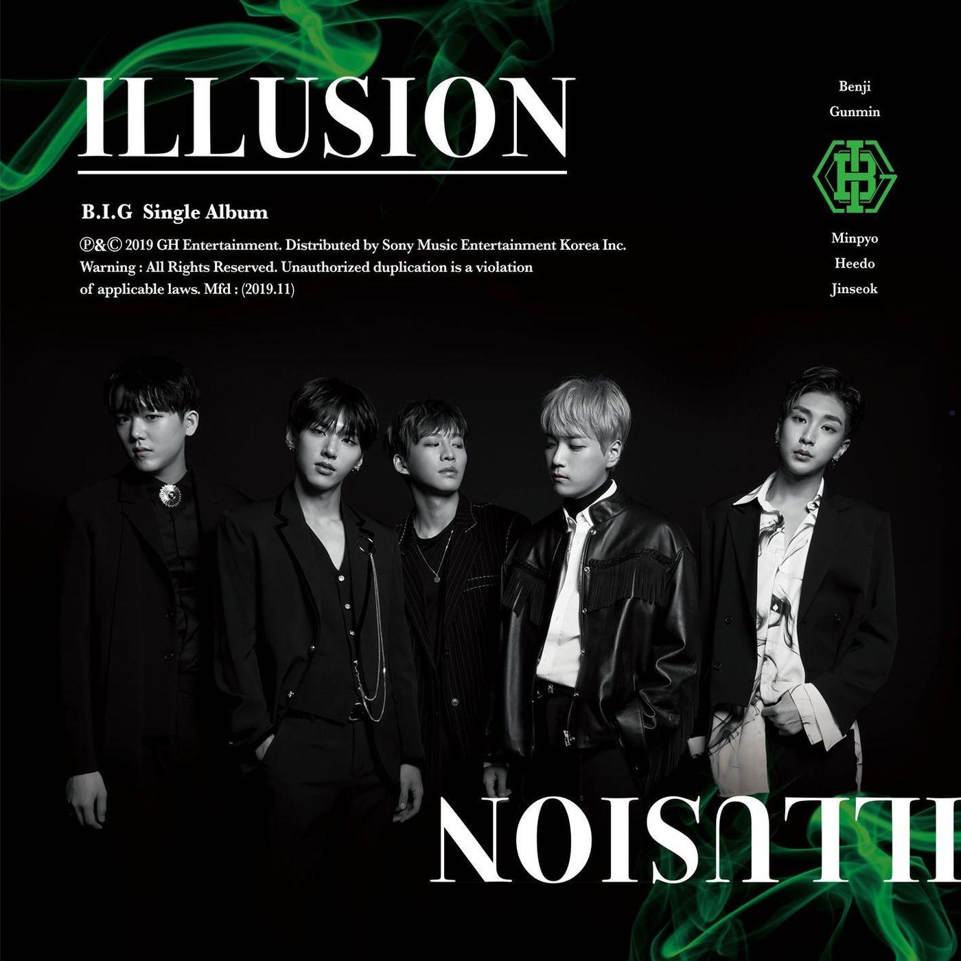 B.I.G (비아이지) – ILLUSION [FLAC + MP3 320 / WEB] [2019.11.04]