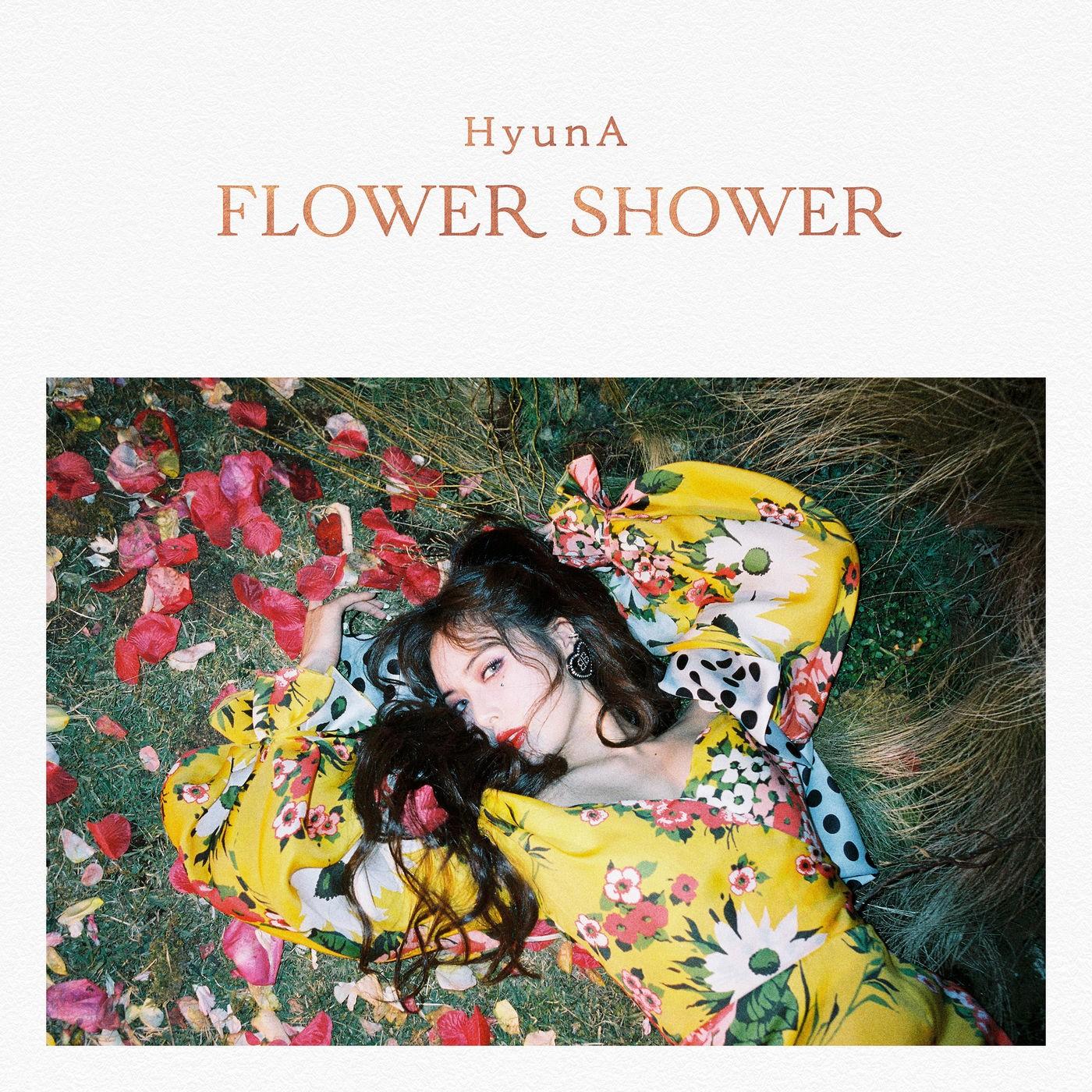 Hyuna (현아) – FLOWER SHOWER [FLAC + MP3 320 / WEB] [2019.11.05]