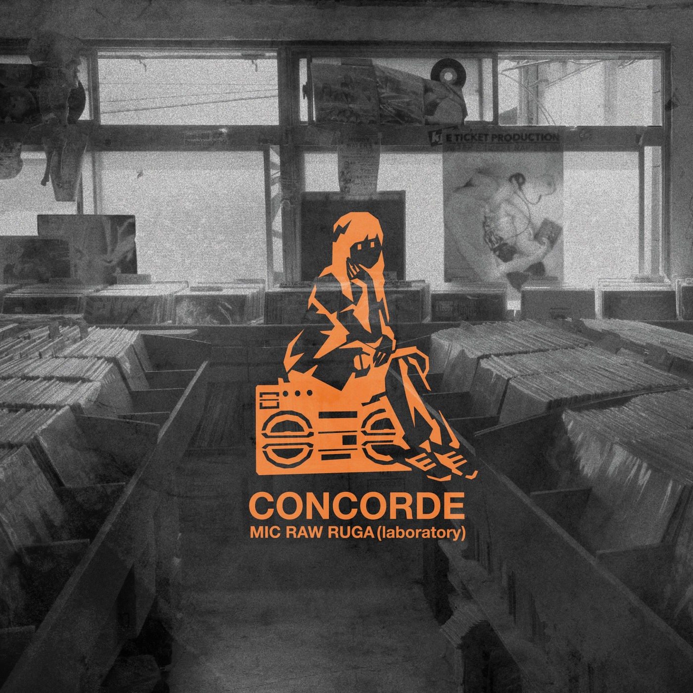 MIC RAW RUGA(laboratory) – CONCORDE [FLAC + MP3 320 / WEB] [2019.10.30]