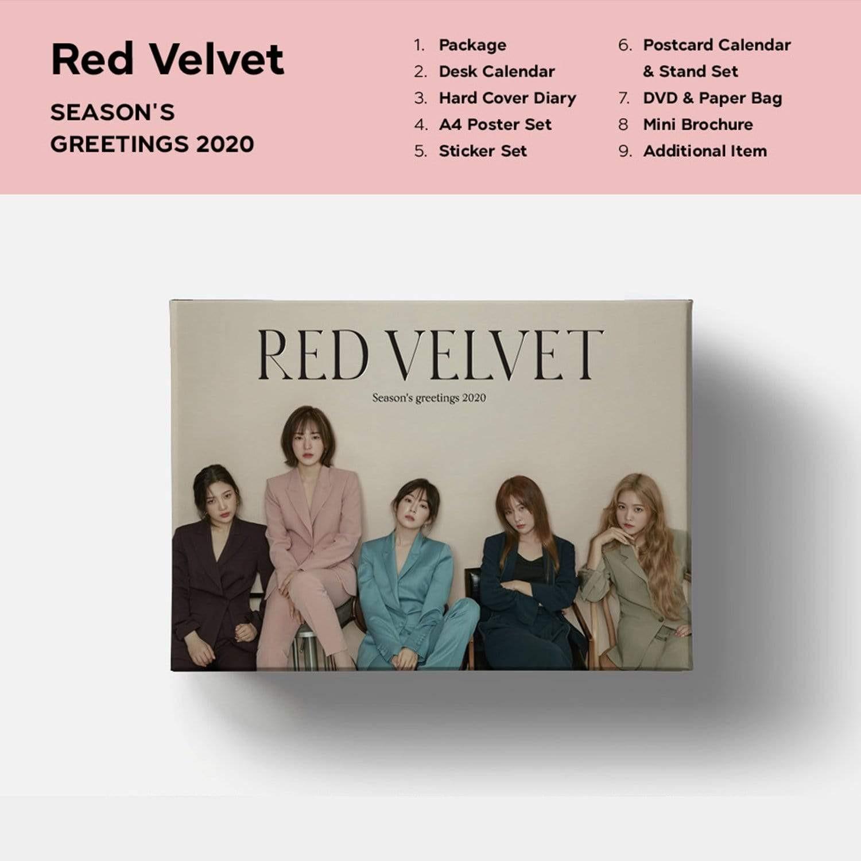 Red Velvet – Red Velvet 2020 Season's Greetings [DVD ISO] [2019.12.13]