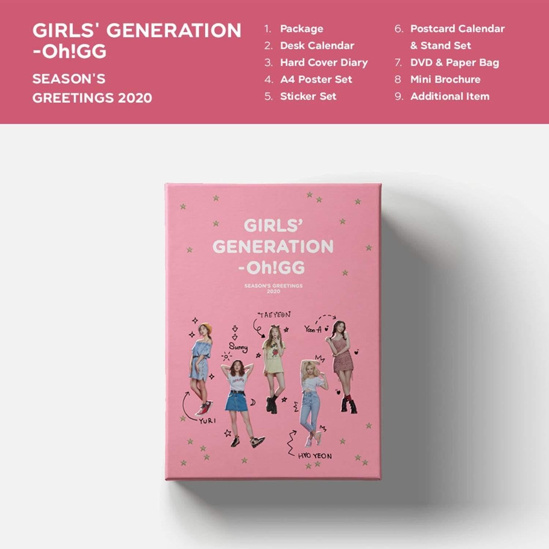 Girls' Generation-Oh!GG – Girls' Generation-Oh!GG 2020 Season's Greetings [DVD ISO] [2019.12.13]