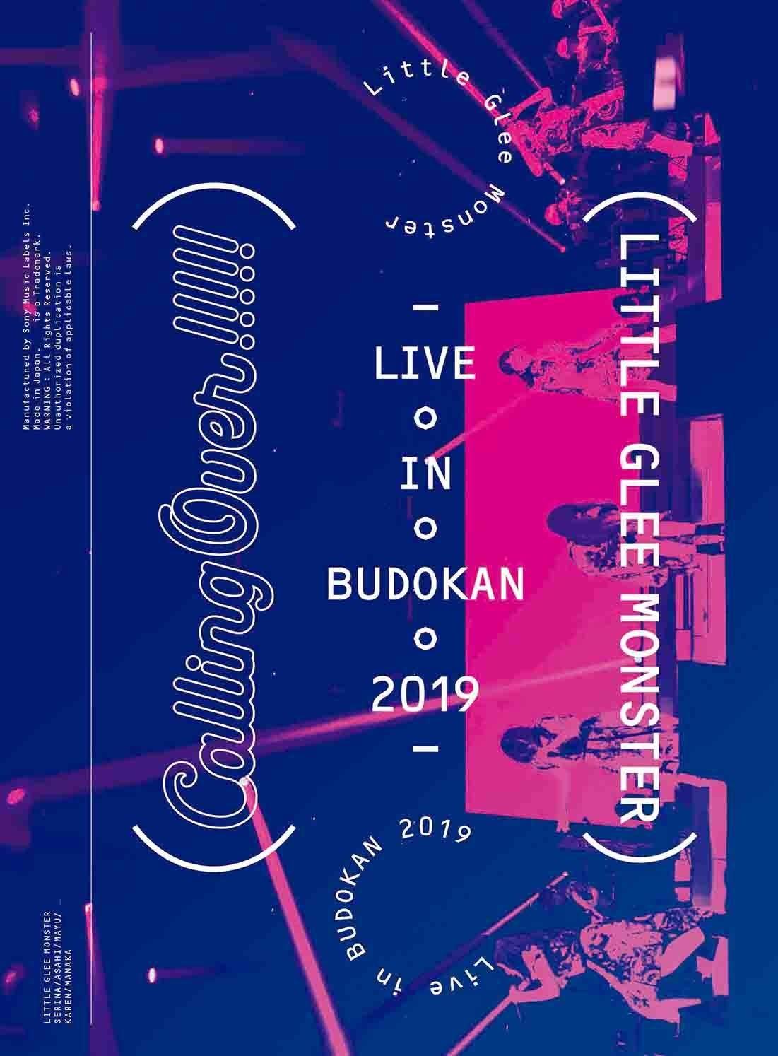 Little Glee Monster – Little Glee Monster Live in BUDOKAN 2019~Calling Over!!!!! [Blu-ray ISO] [2019.06.19]