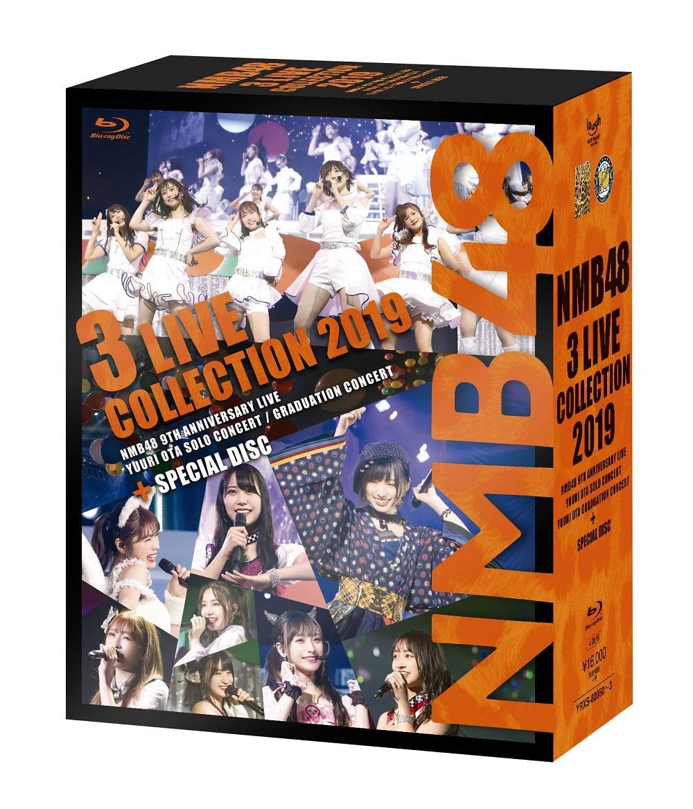 NMB48 – NMB48 3 LIVE COLLECTION 2019 [4x Blu-ray ISO] [2020.02.14]
