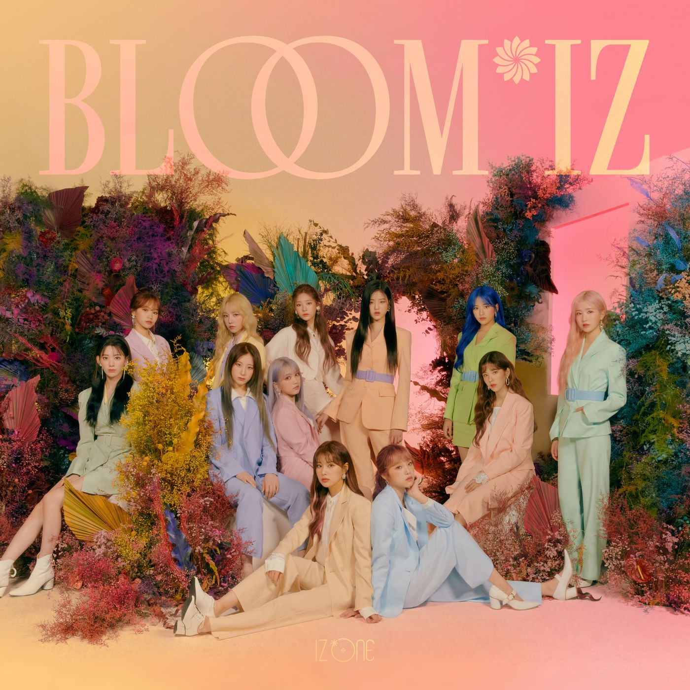 IZ*ONE – BLOOM*IZ [24bit Lossless + MP3 320 / WEB] [2020.02.17]