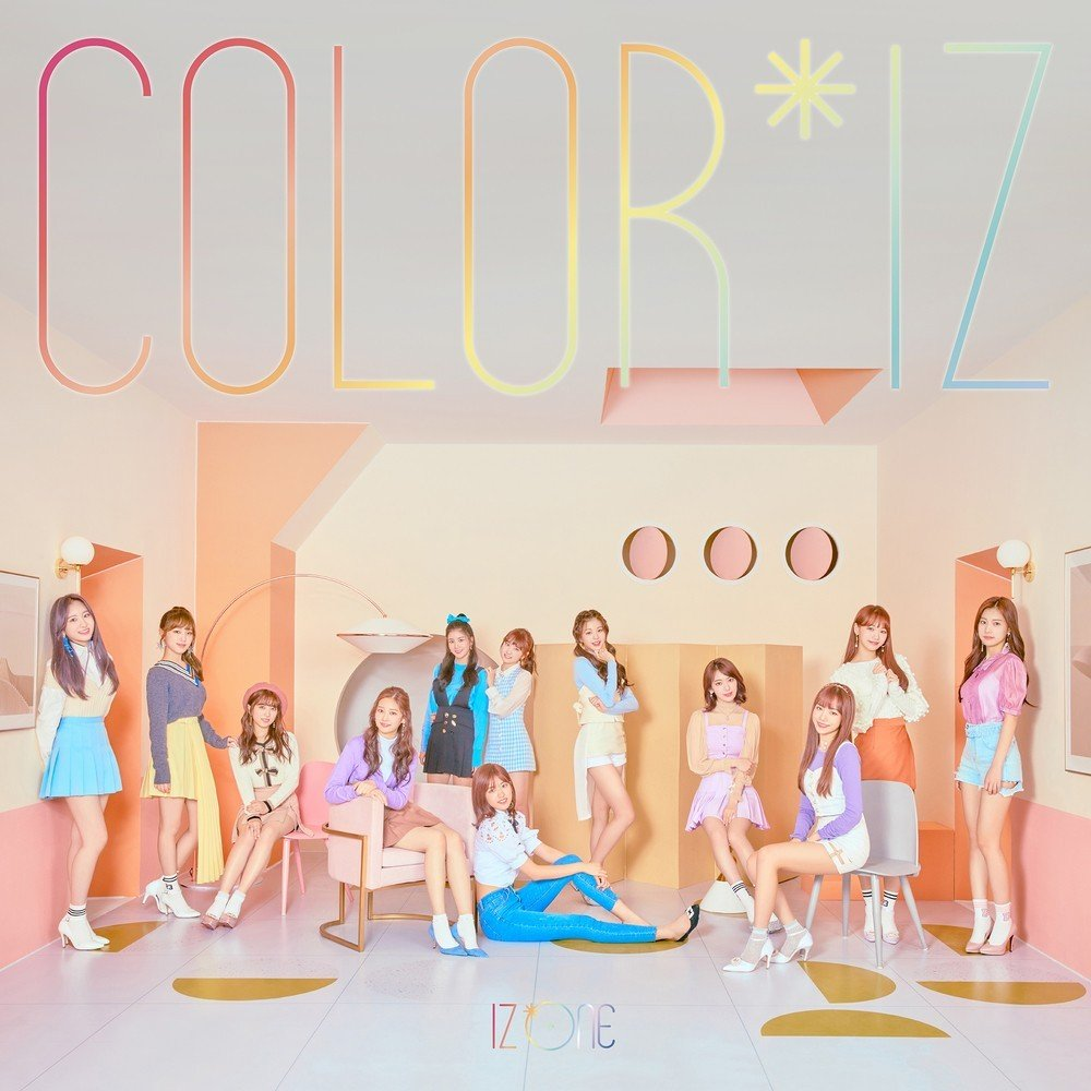 IZ*ONE – COLOR*IZ [FLAC / 24bit Lossless / WEB] [2018.10.29]